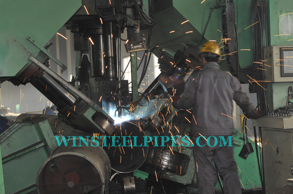 lsaw steel pipe manufacturing process