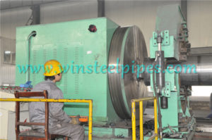 lsaw pipe equipment-End Facing Machine
