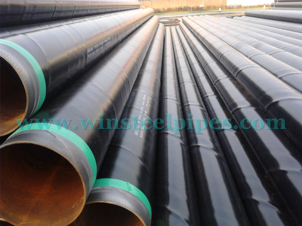 3PE coated steel pipe - ssaw