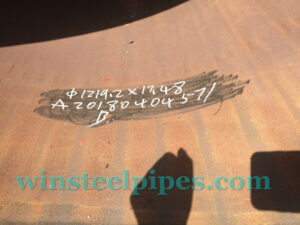 lsaw steel pipe 1219x17.48